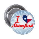 I Love Stamford, Texas Button