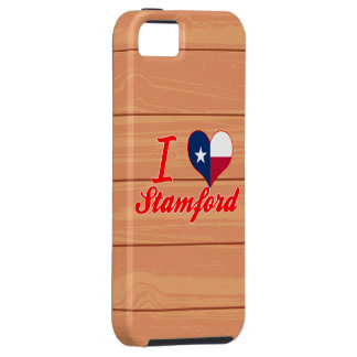 I Love Stamford, Texas iPhone 5 Cases