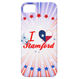 I Love Stamford, Texas iPhone 5 Covers