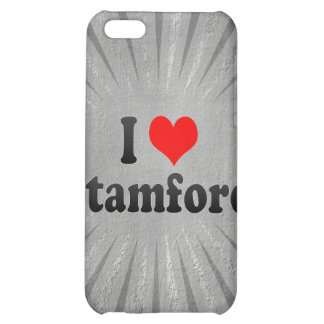 I Love Stamford, United States Cover For iPhone 5C