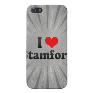 I Love Stamford, United States iPhone 5 Cases