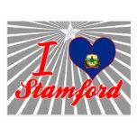I Love Stamford, Vermont Postcard