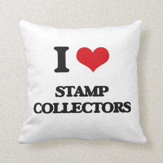 I love Stamp Collectors Pillow