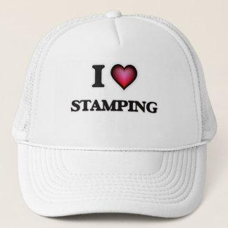 I Love Stamping Trucker Hat