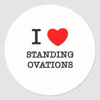 I Love Standing Ovations Sticker