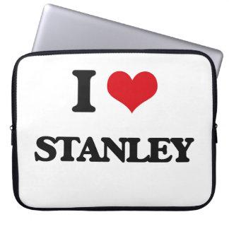 I Love Stanley Laptop Sleeves