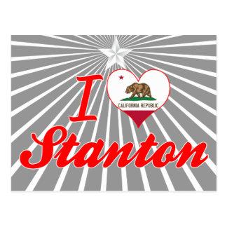 I Love Stanton, California Post Card