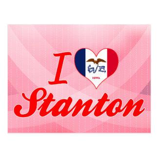 I Love Stanton, Iowa Post Card