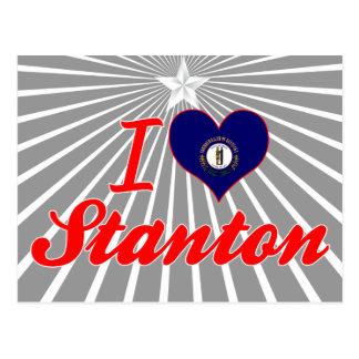 I Love Stanton, Kentucky Post Card