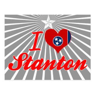 I Love Stanton, Tennessee Postcard