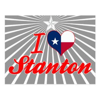 I Love Stanton, Texas Postcards