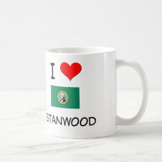 I Love Stanwood Washington Classic White Coffee Mug