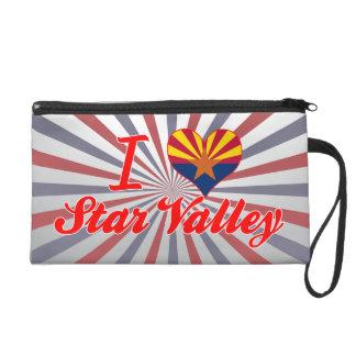 I Love Star Valley, Arizona Wristlet Purses