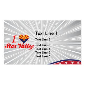 I Love Star Valley, Arizona Business Cards