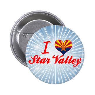 I Love Star Valley, Arizona Button
