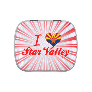 I Love Star Valley, Arizona Jelly Belly Candy Tins