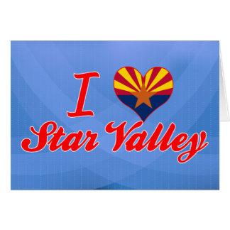I Love Star Valley, Arizona Greeting Cards