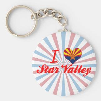 I Love Star Valley, Arizona Keychain