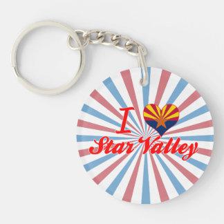 I Love Star Valley, Arizona Key Chains