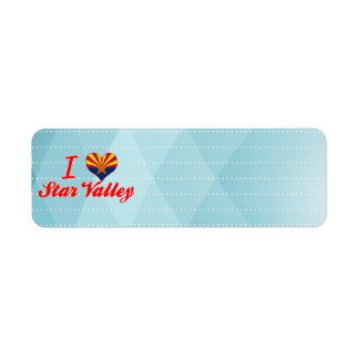 I Love Star Valley, Arizona Labels