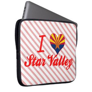 I Love Star Valley, Arizona Laptop Sleeves