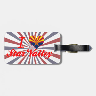 I Love Star Valley, Arizona Tag For Luggage
