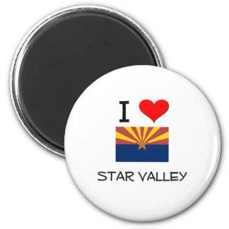 I Love STAR VALLEY Arizona Magnet