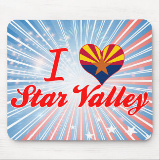 I Love Star Valley, Arizona Mouse Pads