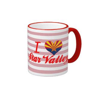 I Love Star Valley, Arizona Mugs