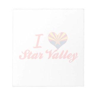 I Love Star Valley, Arizona Notepad