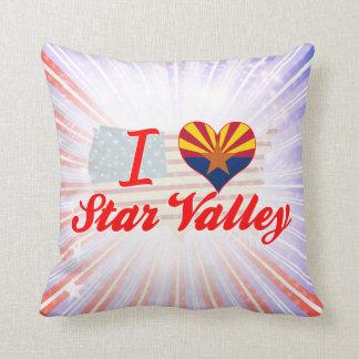 I Love Star Valley, Arizona Pillows