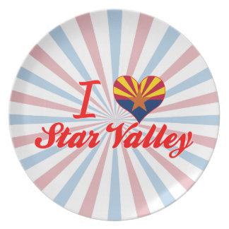 I Love Star Valley, Arizona Dinner Plates