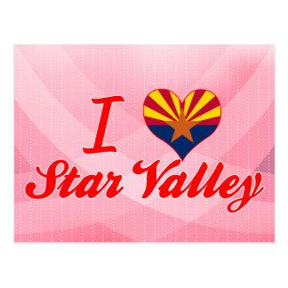 I Love Star Valley, Arizona Postcards
