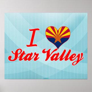 I Love Star Valley, Arizona Poster