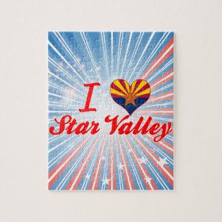 I Love Star Valley, Arizona Jigsaw Puzzle