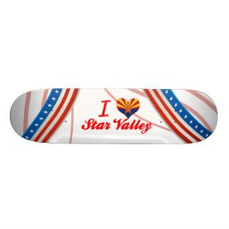I Love Star Valley, Arizona Custom Skate Board