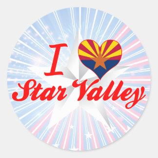 I Love Star Valley, Arizona Sticker