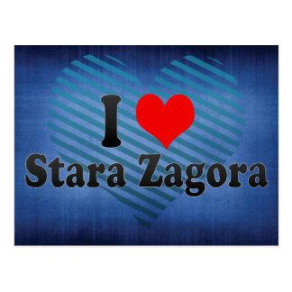 I Love Stara Zagora, Bulgaria Postcard