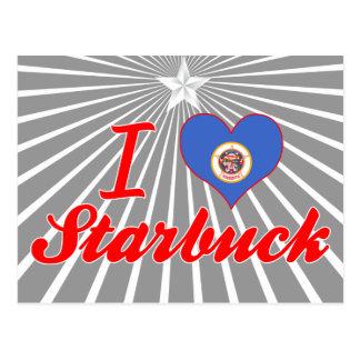 I Love Starbuck, Minnesota Postcard