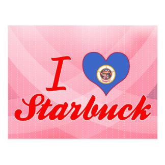 I Love Starbuck, Minnesota Post Card