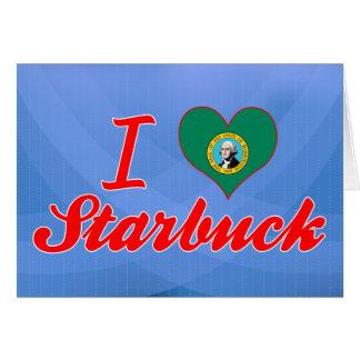 I Love Starbuck, Washington Card