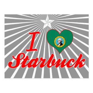 I Love Starbuck, Washington Post Cards
