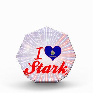 I Love Stark, Kansas Acrylic Award