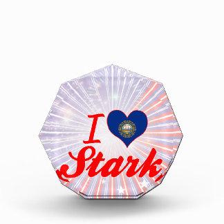 I Love Stark, New Hampshire Acrylic Award