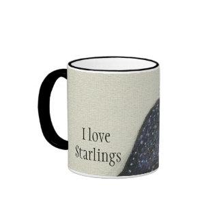 I love Starlings mug