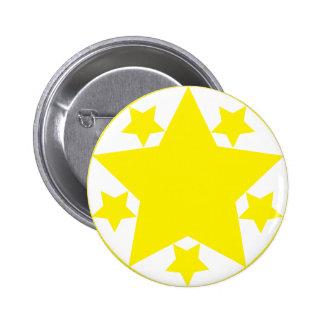 I Love Stars 2 Inch Round Button
