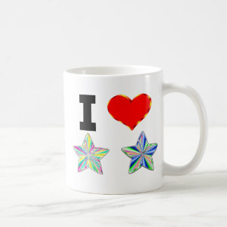 I Love Stars Coffee Mug