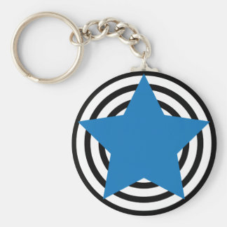 I Love Stars Keychain