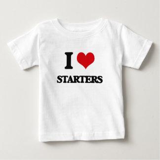 I love Starters Infant T-shirt