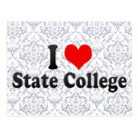 I Love State College, United States Postcards